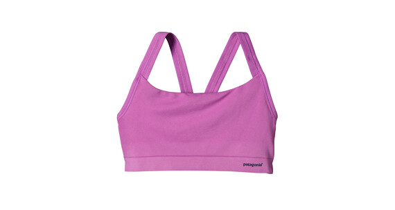 Patagonia W's Active Mesh Bra Mock Purple